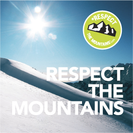 respect the mountains
