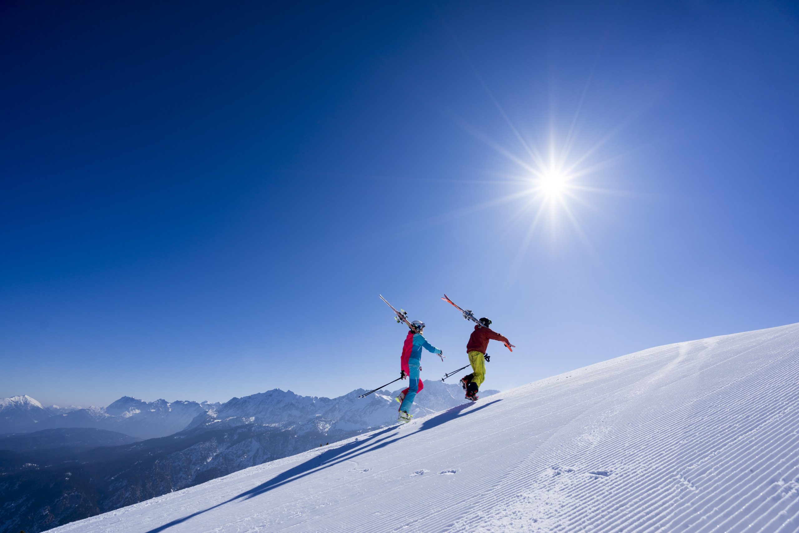 Zugspitze Gletsjer perfecte omstandigheden
