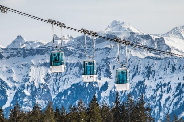 Beatenberg - Niederhorn skigebied gondels