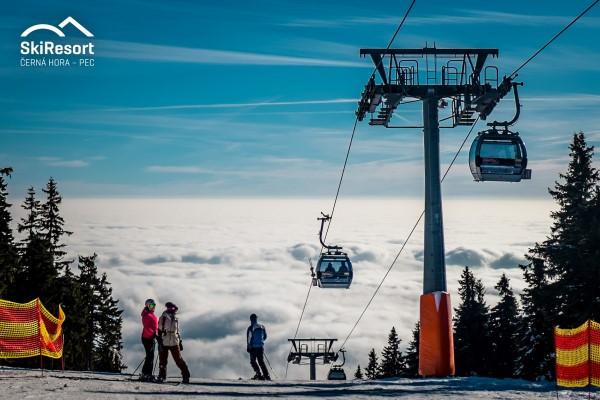 Cerna Hora - Pec skigebied