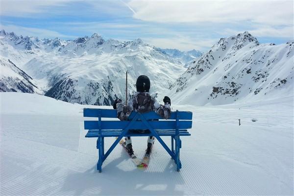 Davos rustmoment wintersport
