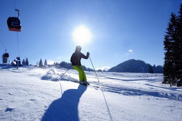 Oberstaufen ideale wintersportomstandigheden
