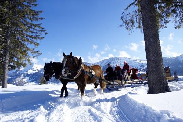 Oberstaufen romantisch paardenslee