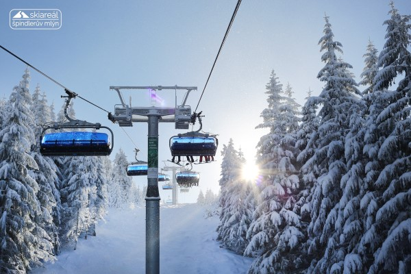Spindleruv Mlyn winterlandschap