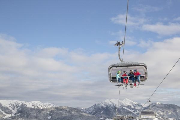 Steinplatte skigebied stoeltjeslift