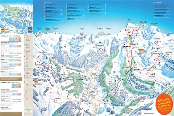 Engelberg-Titlis pistekaart