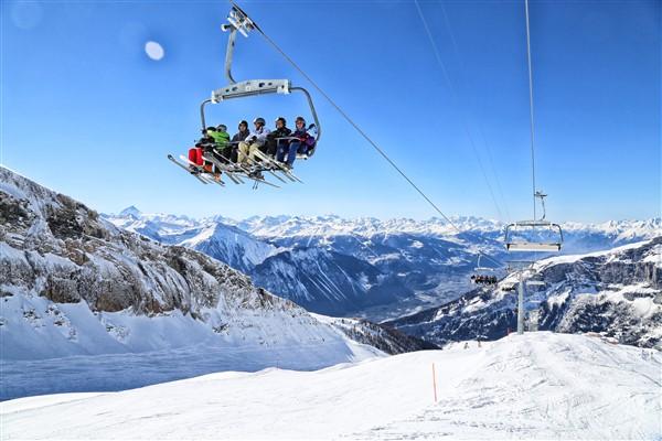 Leukerbad stoeltjeslift skigebied