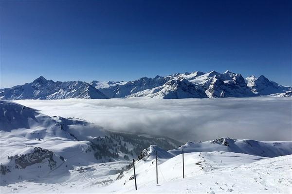Meiringen - Hasliberg berglandschap Hasliberg winter