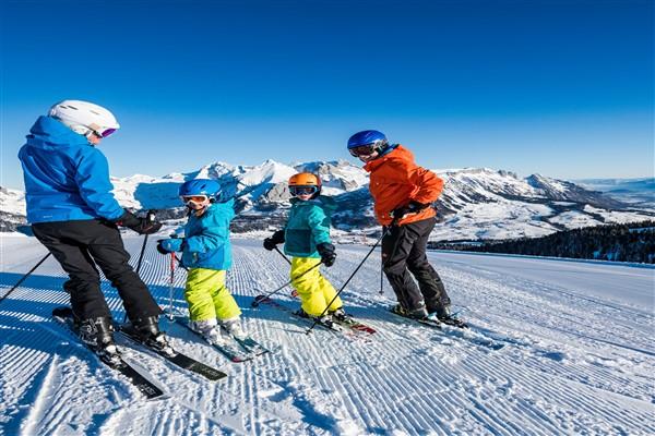Toggenburg familie skiën