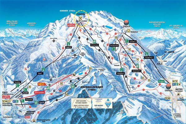 GG Resort Kals - Matrei pistekaart © schultz-ski.at
