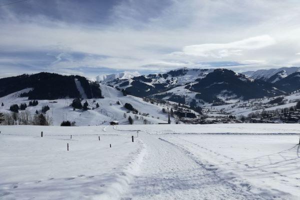 Hochkönig wandelpad winter Maria Alm