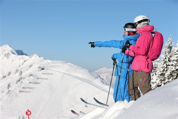 Kleinwalsertal skigebied