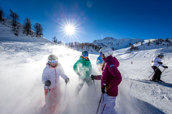Salzburger Sportwelt skigebied skiplezier © Salzburger Sportwelt - Ikarus